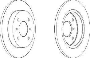 JPN 40H1013-JPN - Bremžu diski interparts.lv