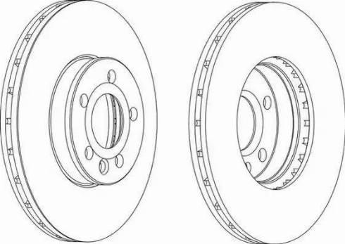 FREMAX BD-1531 - Bremžu diski interparts.lv