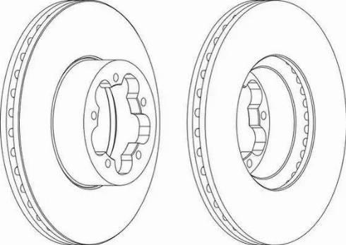 FREMAX BD-5632 - Bremžu diski interparts.lv