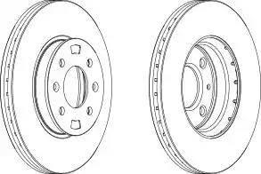 FREMAX BD-5101 - Bremžu diski interparts.lv