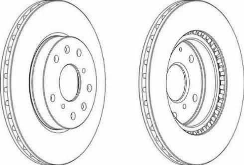 FREMAX BD-6041 - Bremžu diski interparts.lv
