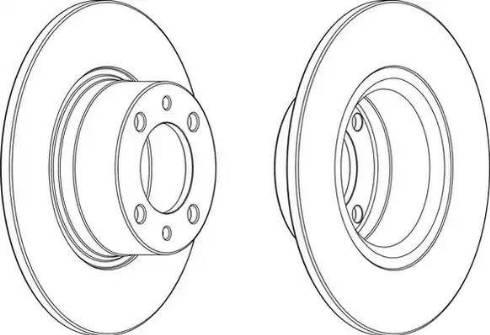 LYNXauto BN-1671 - Bremžu diski interparts.lv