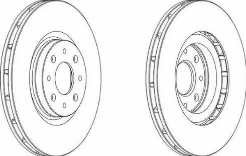 FREMAX BD-5546 - Bremžu diski interparts.lv