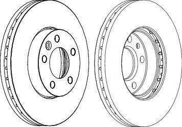 FREMAX BD-6153 - Bremžu diski interparts.lv