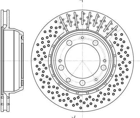 A.B.S. 16492 - Bremžu diski interparts.lv