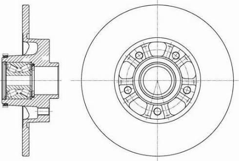 FREMAX BD-6850 - Bremžu diski interparts.lv