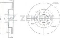 Zekkert BS-5105 - Bremžu diski interparts.lv