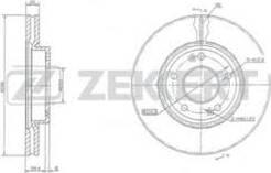 Zekkert BS-5119 - Bremžu diski interparts.lv