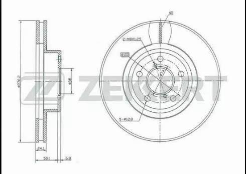 Zekkert BS-5181 - Bremžu diski interparts.lv