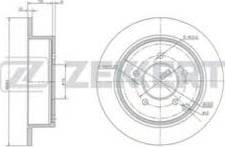 Zekkert BS-5207 - Bremžu diski interparts.lv