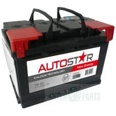 AUTO STAR 12V/78Ah/680A AKB 278x175x190