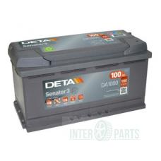 DETA SENATOR3 12V/100Ah/ 900A 353x175x190