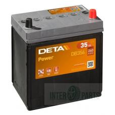 Akumulators DETA EXIDE EB356 12V/35Ah/240A 187x127x220