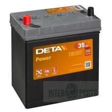 Akumulators DETA POWER 12V/35Ah/240A 187x127x220
