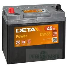 Akumulators DETA POWER 12V/45Ah/330A 234x127x220