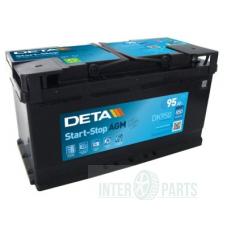 Akumulators DETA AGM 12V/90Ah/850A 353x175x190