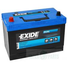 Akumulators EXIDE Dual 12V/95Ah/650A 310x175x225