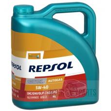 REPSOL AutoGas 5W40 motoreļļa 4L