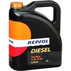 REPSOL Turbo  THPD 15W40 eļļa 5L