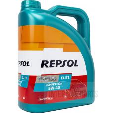 REPSOL Elite Competicion 5W40 motoreļļa 5L