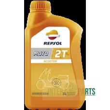 REPSOL  MOTO SCOOTER 2T motoreļļa 1L